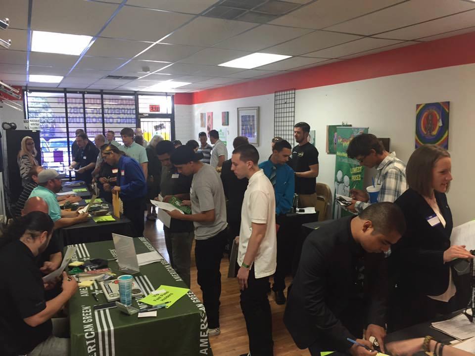 arizona marijuana job fair