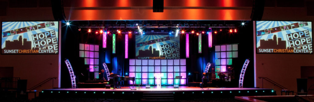 church stage lighting the complete