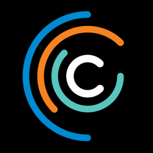 Critical Stages Touring Logo - a letter c with 3 moving half circles surrounding it - Australia's National Touring Theatre Company