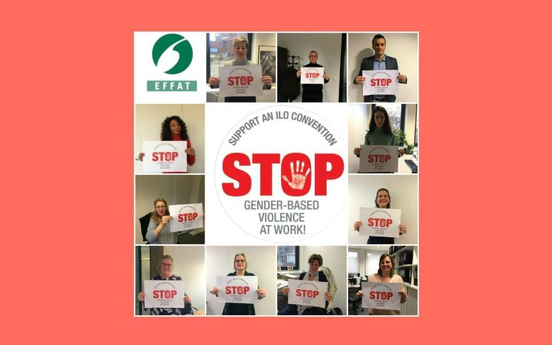 #wetoo urge to end gender based violence at work – Aiming high towards an ILO Convention