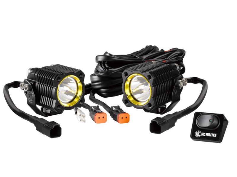KC HiLites FLEX Off-Road LED Modular Lighting System Spot