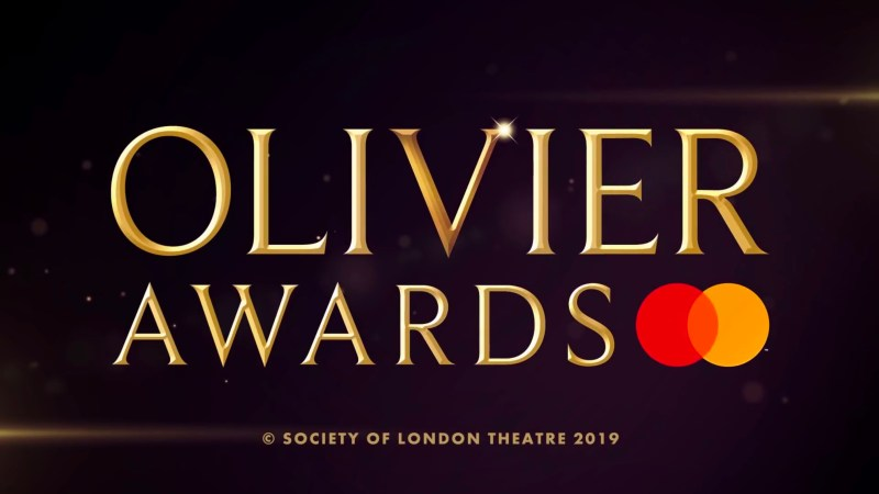 olivier awards 2020 logo