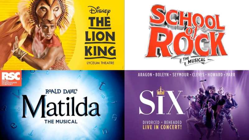west end musicals sunday 2019