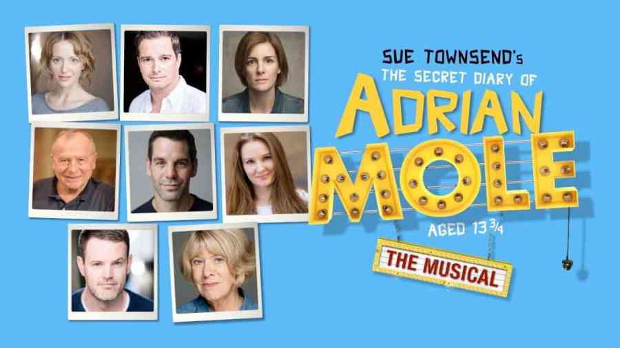 The Secret Diary of Adrian Mole cast