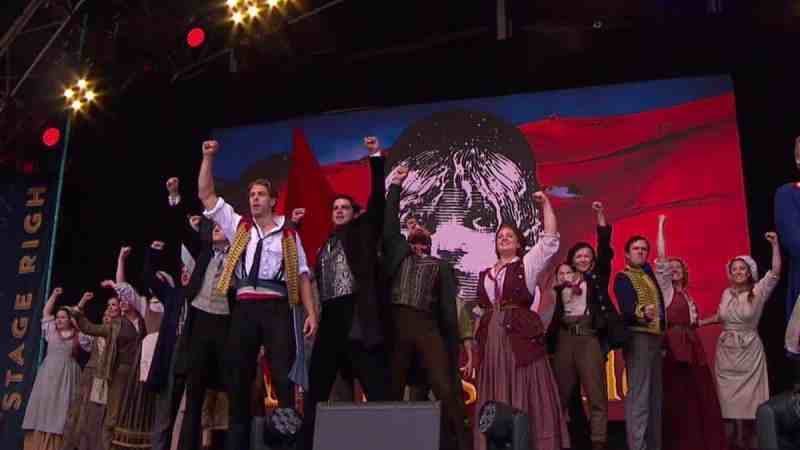 les mis west end live