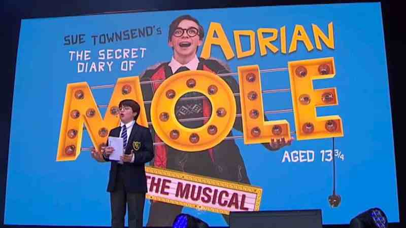 The Secret Diary Of Adrian Mole Aged musical
