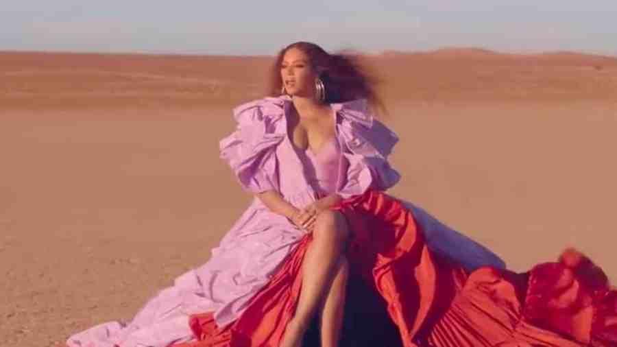 beyonce spirit music video