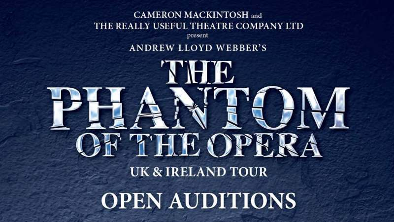 the phantom of the opera auditions