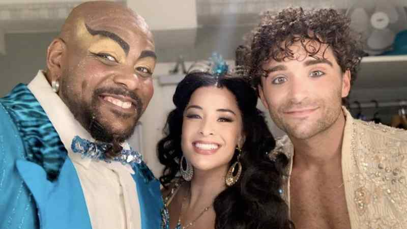 aladdin london closing cast