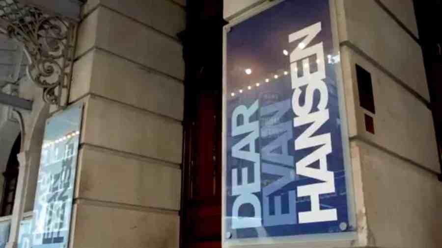 dear evan hansen west end london - 4