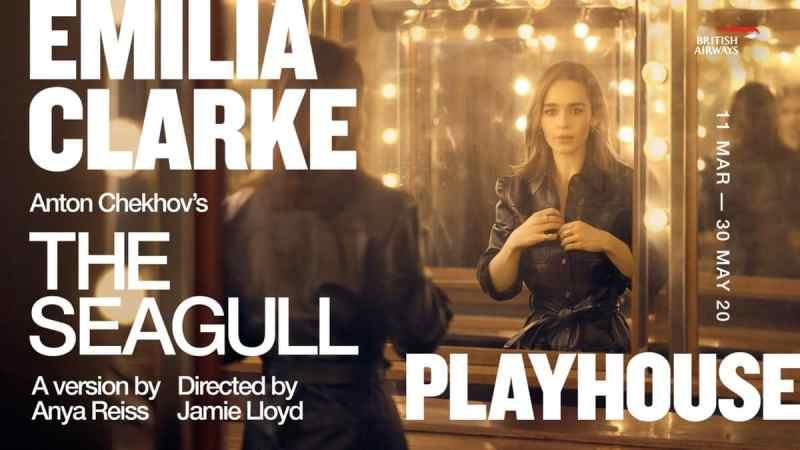 Emilia Clarke The Seagull