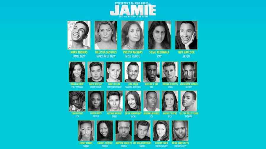 jamie west end cast 2020