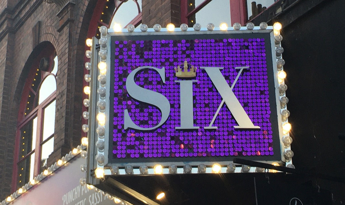 Six at London, 's Lyric Theatre