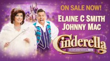 Glasgow King Theatre Cinderella 2020 panto tickets and cast