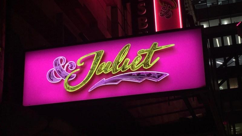 juliet musical london west end - 1