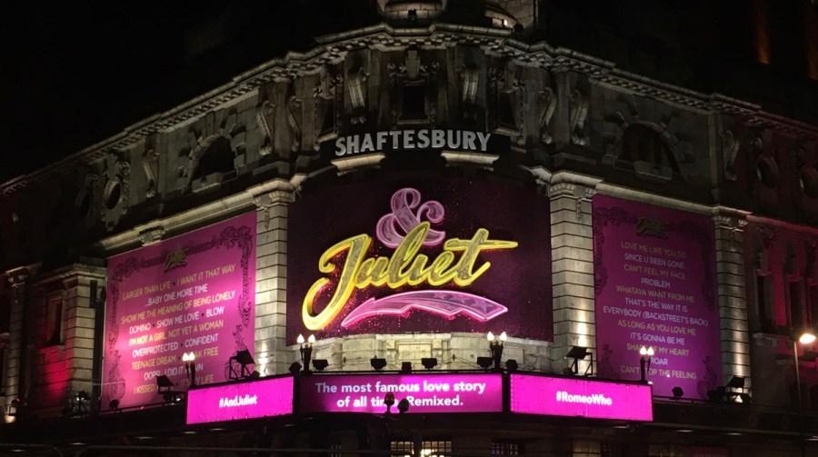 juliet musical london west end - 2