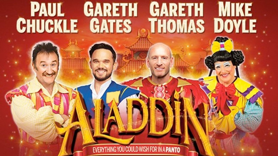 Cardiff New Theatre's Aladdin 2020 panto tickets and cast