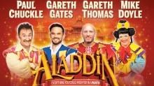 Cardiff New Theatre's Aladdin 2020 panto tickets and cast