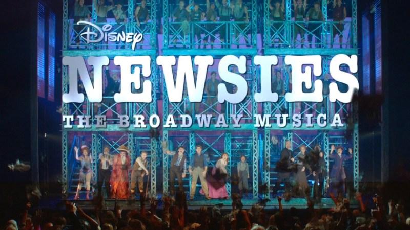 disney newsies musical
