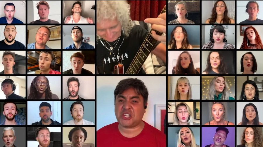 We Will Rock You video