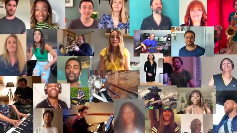 beautiful uk tour cast video
