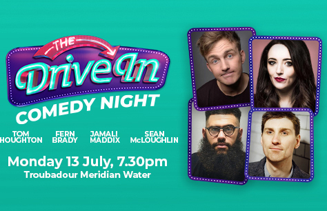 The Drive In Comedy Club with Jamali Maddix