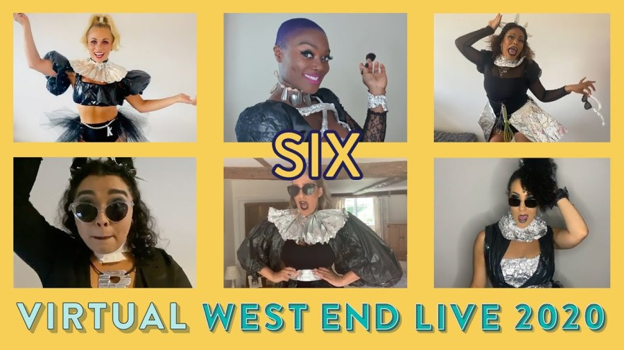 six the musical west end live