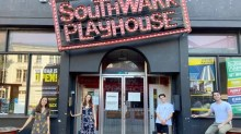 The Last Five Years Southwark Playhouse cast