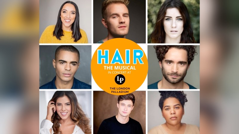 hair musical concert london palladium