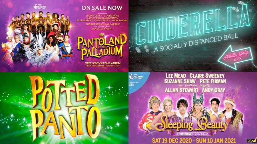 2020 panto productions
