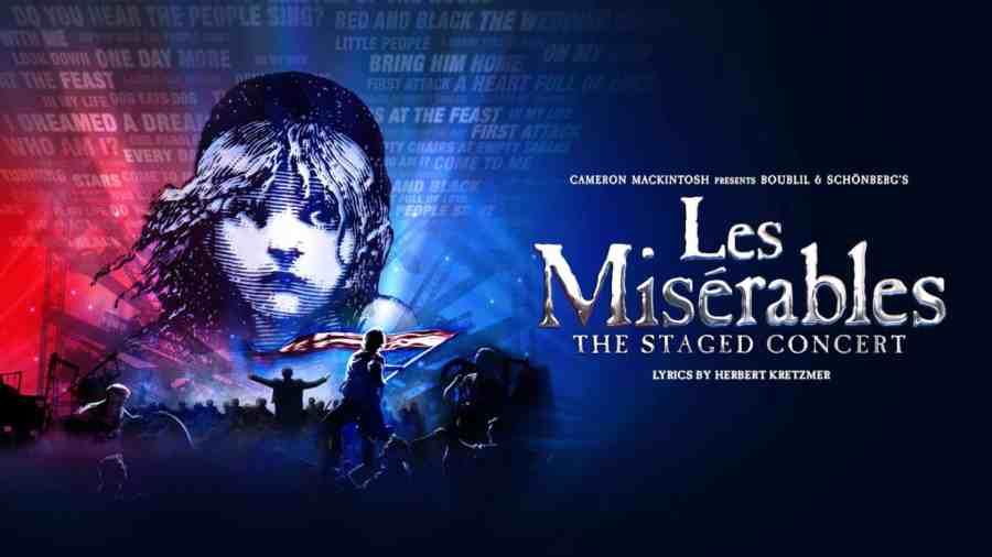 Les Miserables concert