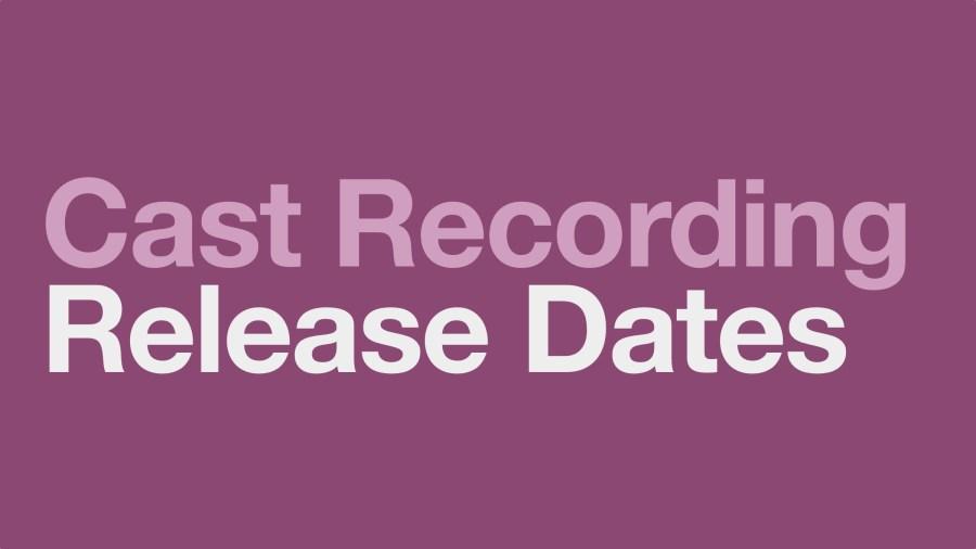 cast recording release dates schedule