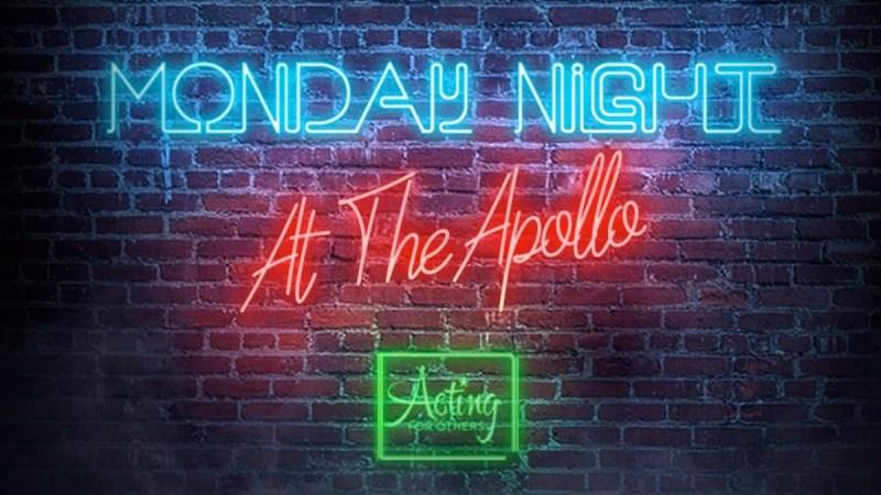monday ngiht at the Apollo concert series