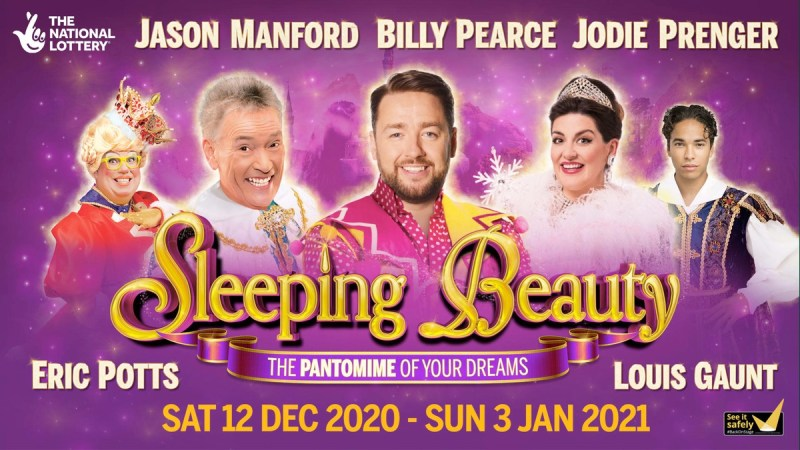 sleeping beauty manchester panto 2020 cast