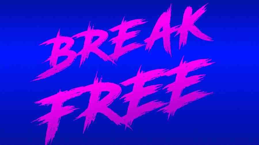 break free concert