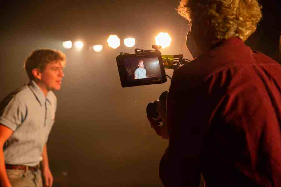 Behind-the-scenes photography of the filming of CRUISE written and performed by Jack Holden. Photo by Danny Kaan