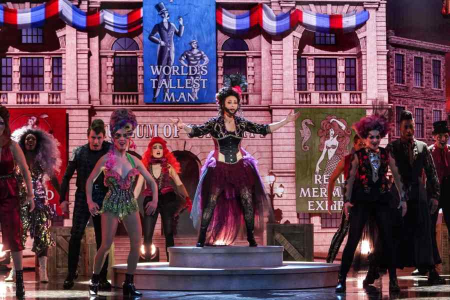 Luisa Bradshaw-White performs This Is Me from The Greatest Showman. Picture: ITV
