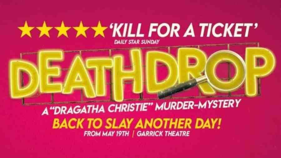 death drop west end tickets cast 2021