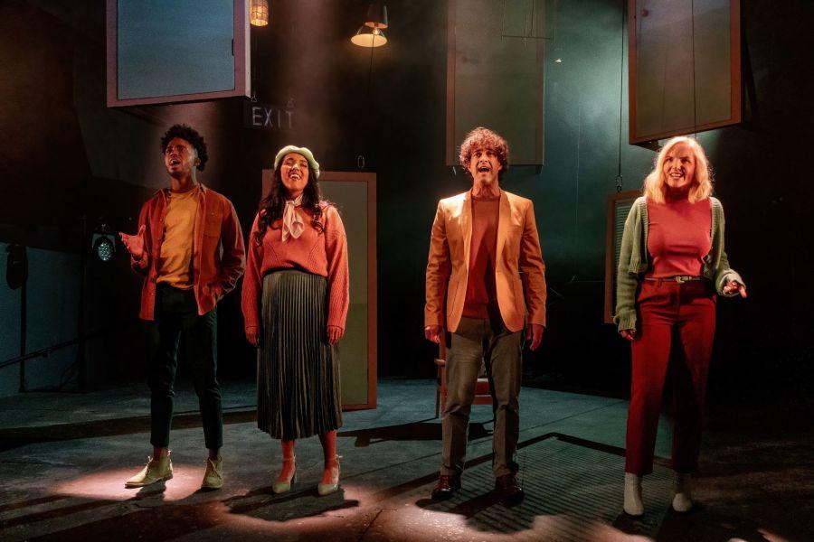 Dalton Harris, Kerry Ellis, Lee Mead, Grace Mouat, Closer Than Ever (credit Bonnie Britain)