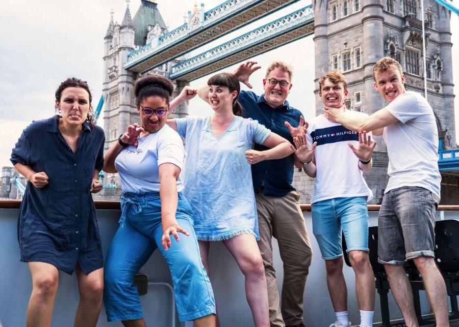 Horrible Histories' Terrible Thames cast