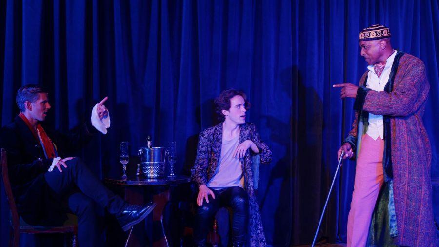 John Addison, Bart Lambert and Robert Grose, Dorian A Rock Musical (Credit Stream.Theatre)