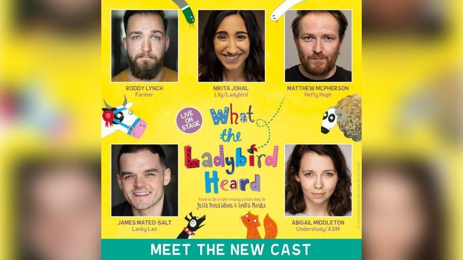 What the Ladybird Heard cast