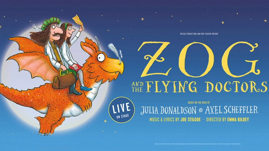 zog and the flying doctors stage