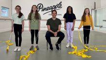 L-R Alex, Zoe, Elliot, Alyssa and Imogen from RSCs Matilda The Musical
