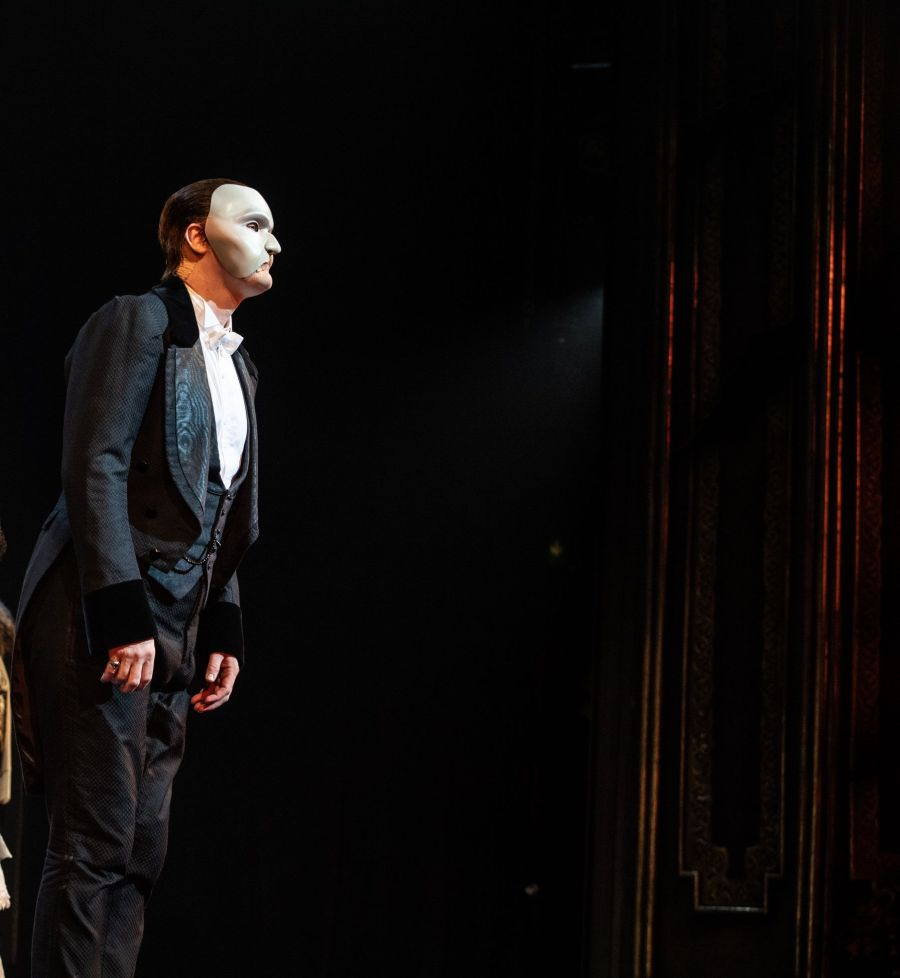 THE PHANTOM OF THE OPERA 35th Anniversary. Killian Donnelly 'The Phantom'. Photo Craig Sugden
