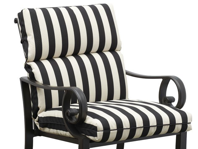 Striped Outdoor Cushions