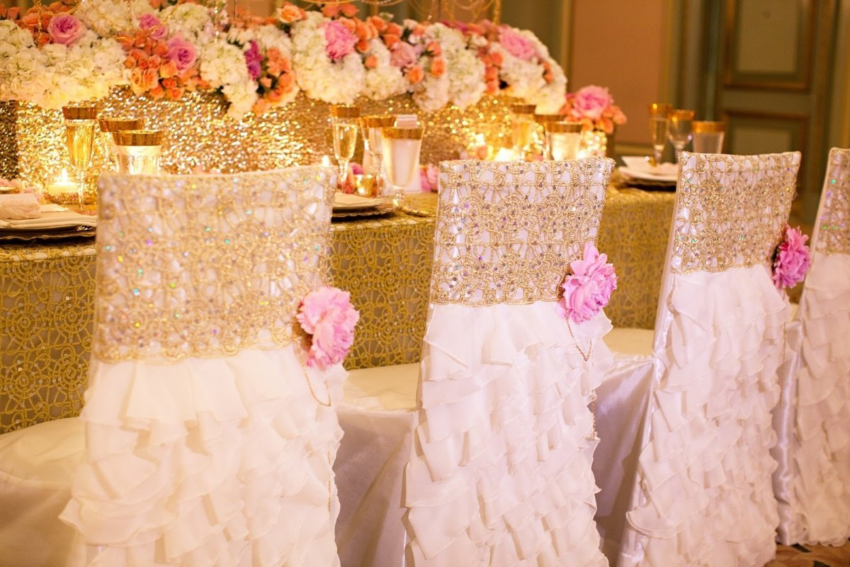 Wedding Chair Covers: Practical Way Of Planning For A