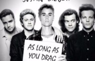 Audio: One Direction / Justin Bieber - 'As Long As You Drag Me Down' (Mashup)