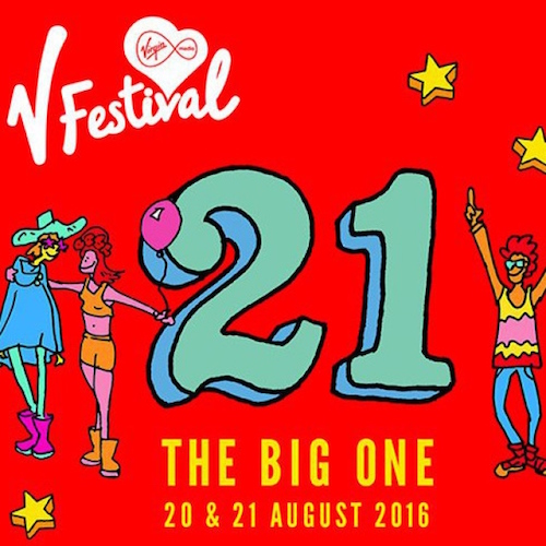 V Festival 2016: Day-by-day stage splits announced