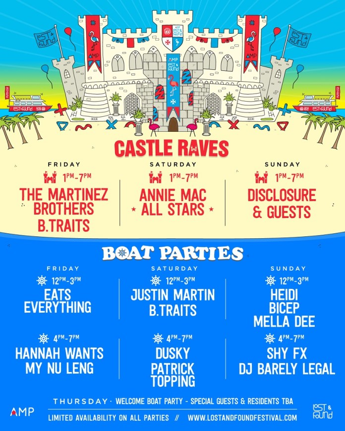 Annie Mac lost found 2016 boat party castle rave feb 2016